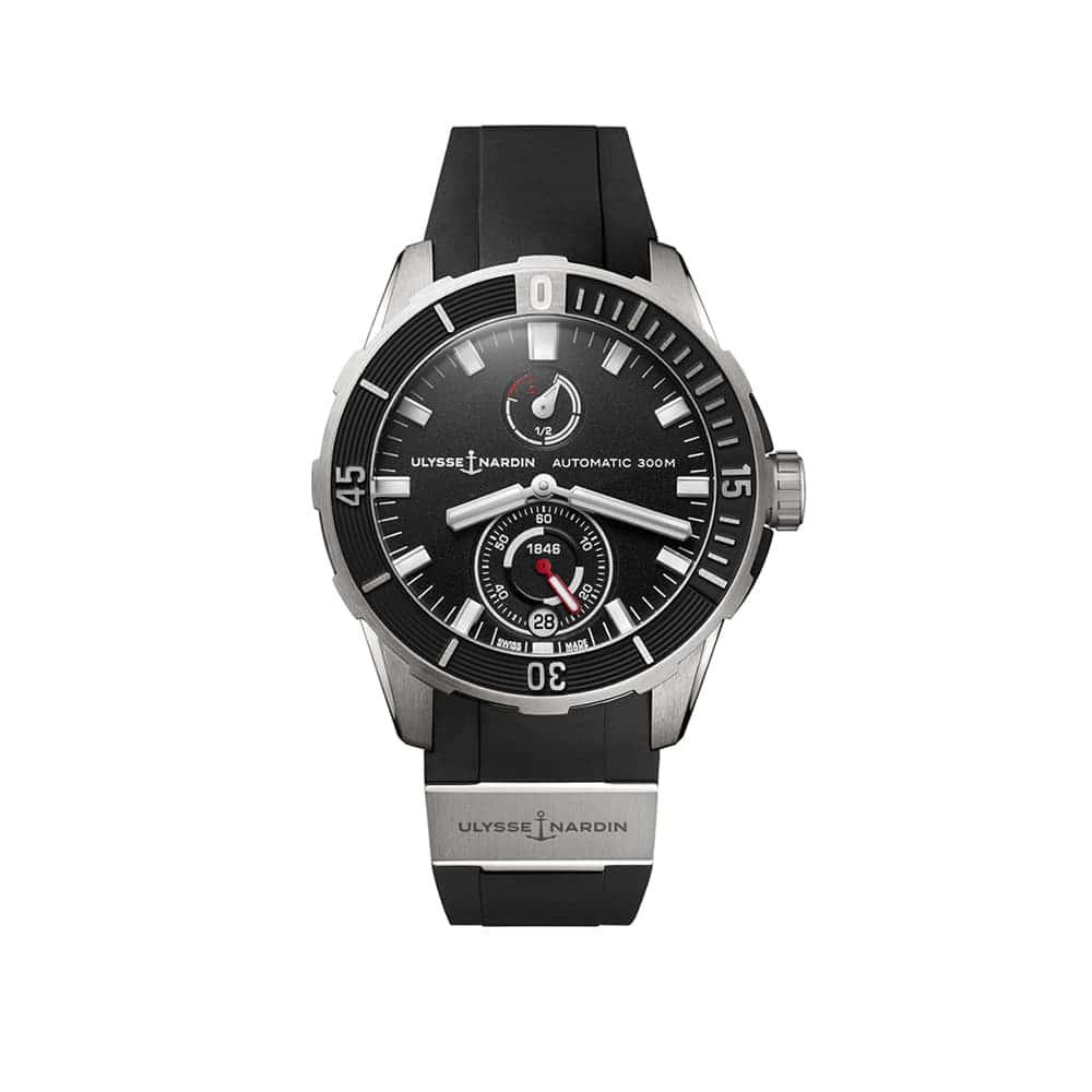 Часы Diver Сhronometer 44 mm Ulysse Nardin 1183-170-3/92