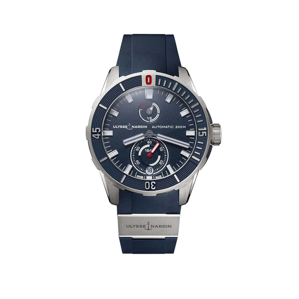 Часы Diver Сhronometer 44 mm Ulysse Nardin 1183-170-3/93