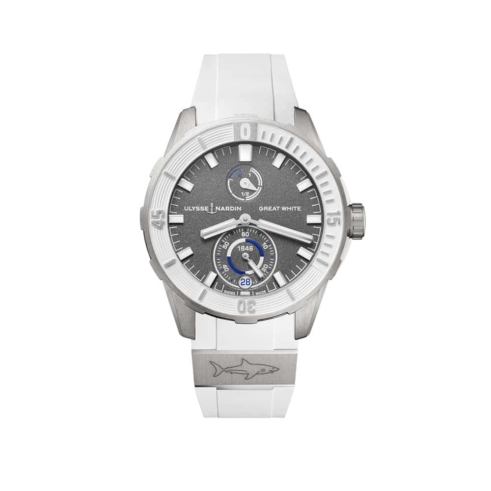 Часы Diver Сhronometer 44 mm Ulysse Nardin 1183-170LE-3/90-GW