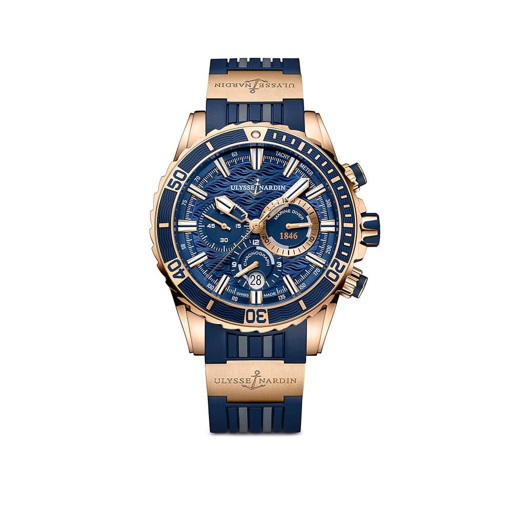 Часы Diver Chronograph Ulysse Nardin 1502-151-3/93
