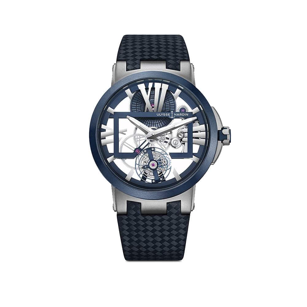 Часы Executive Skeleton Tourbillon Ulysse Nardin 1713-139/43 - 1