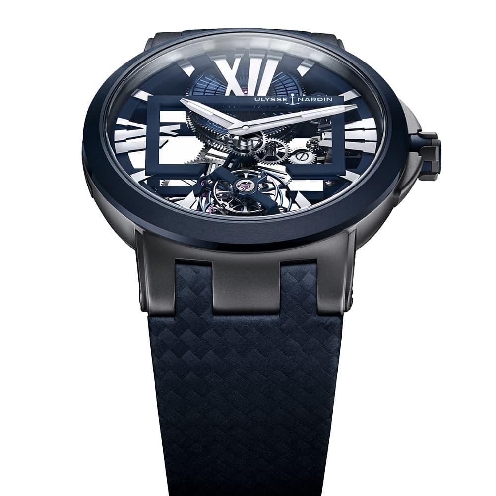 Часы Executive Skeleton Tourbillon Ulysse Nardin 1713-139/43 - 2