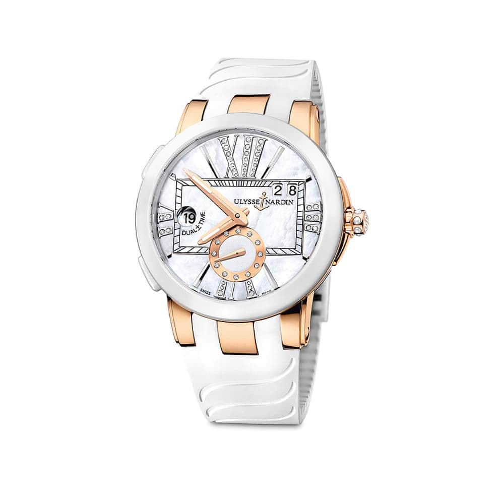Часы Dual Time Lady Ulysse Nardin 246-10-3/391