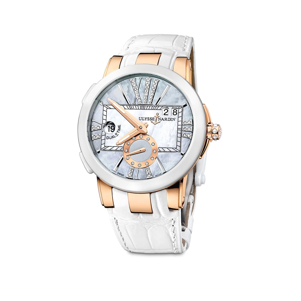 Часы Dual Time Lady Ulysse Nardin 246-10/392