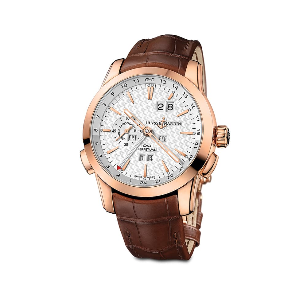Часы GMT Perpetual Ulysse Nardin 322-10