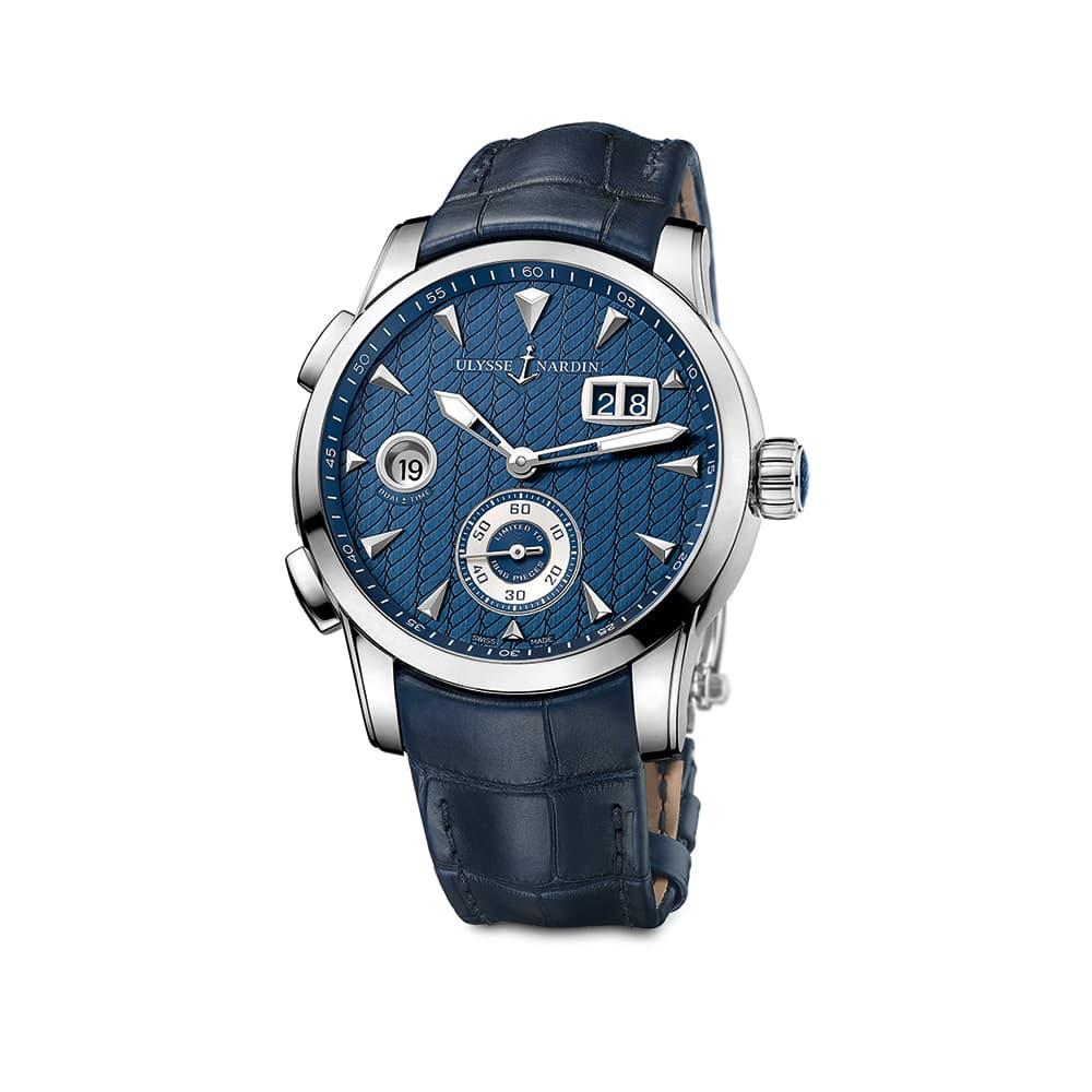 Часы Dual Time Manufacture Ulysse Nardin 3343-126LE/93