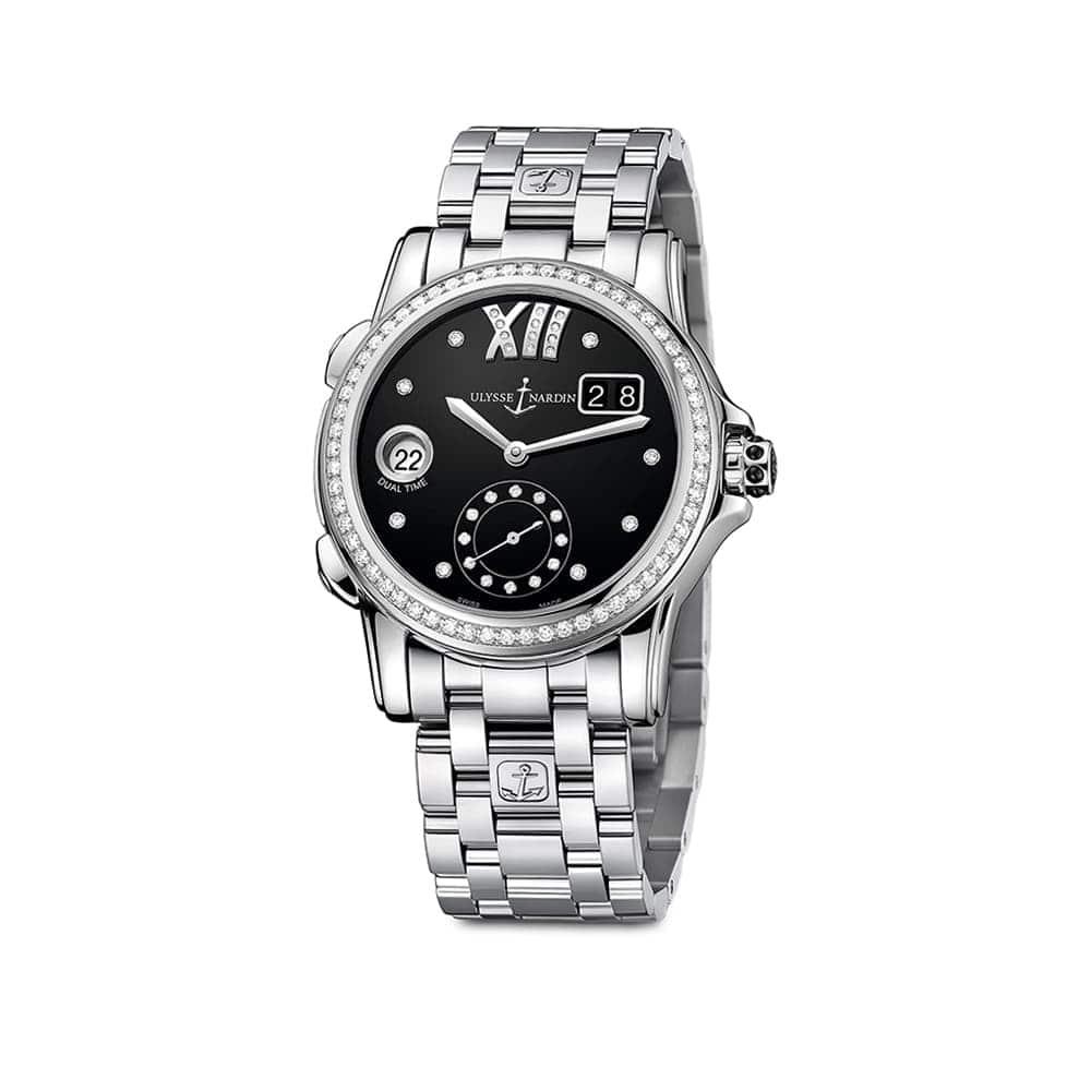 Часы Dual Time Lady Ulysse Nardin 3343-222B-7/30-02