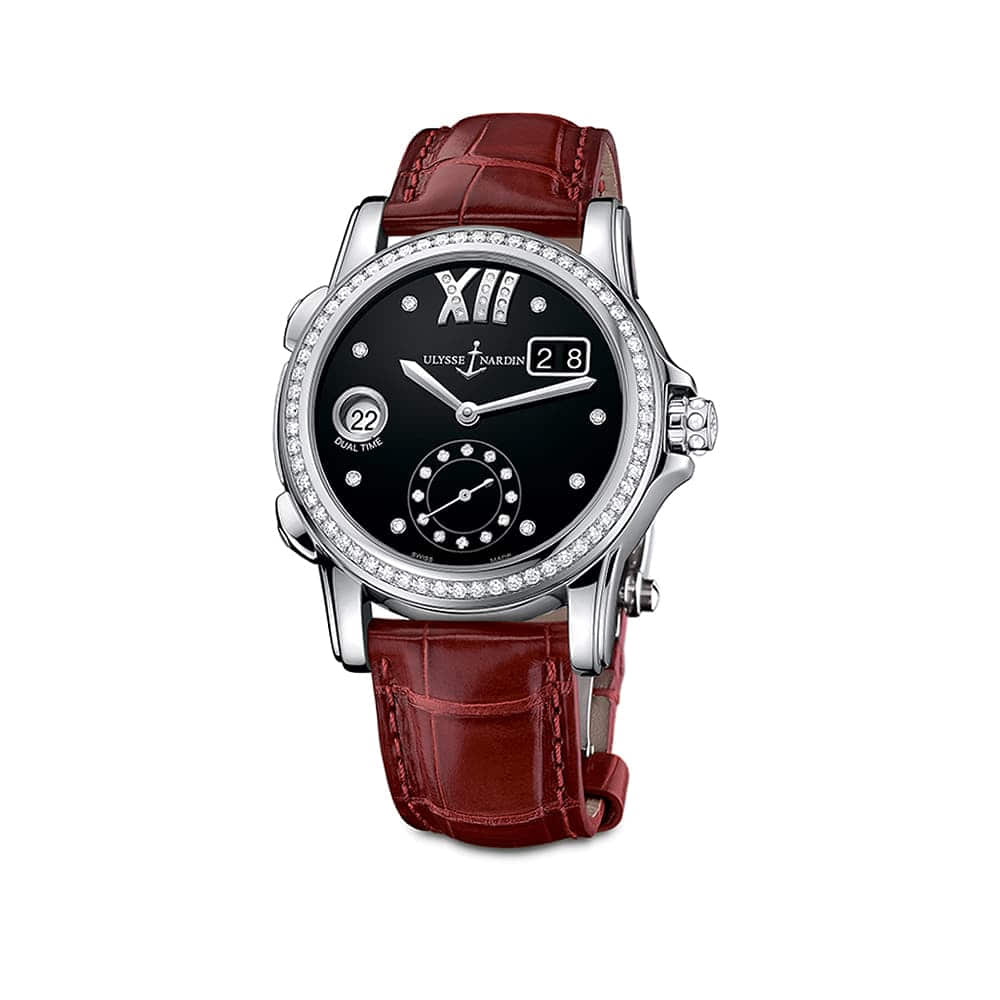 Часы Dual Time Lady Ulysse Nardin 3343-222B/30-02