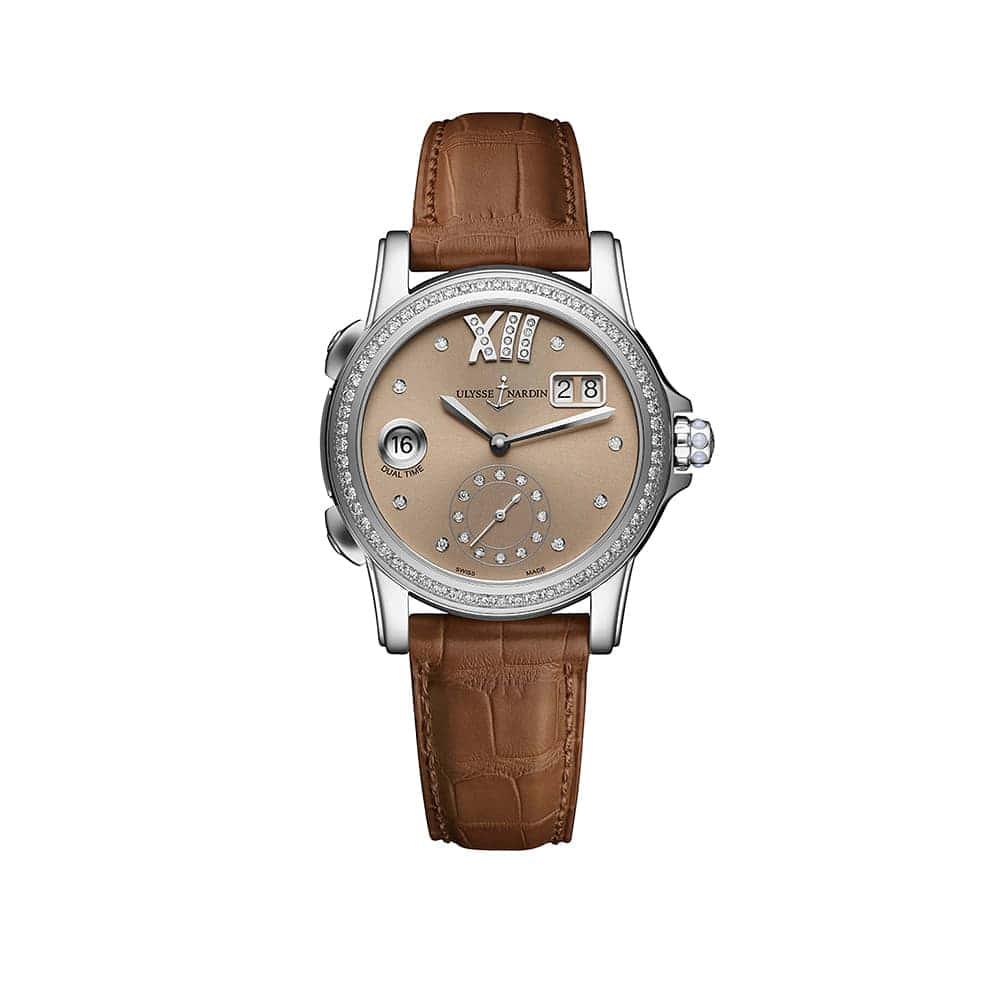 Часы Dual Time Lady Ulysse Nardin 3343-222B/30-09
