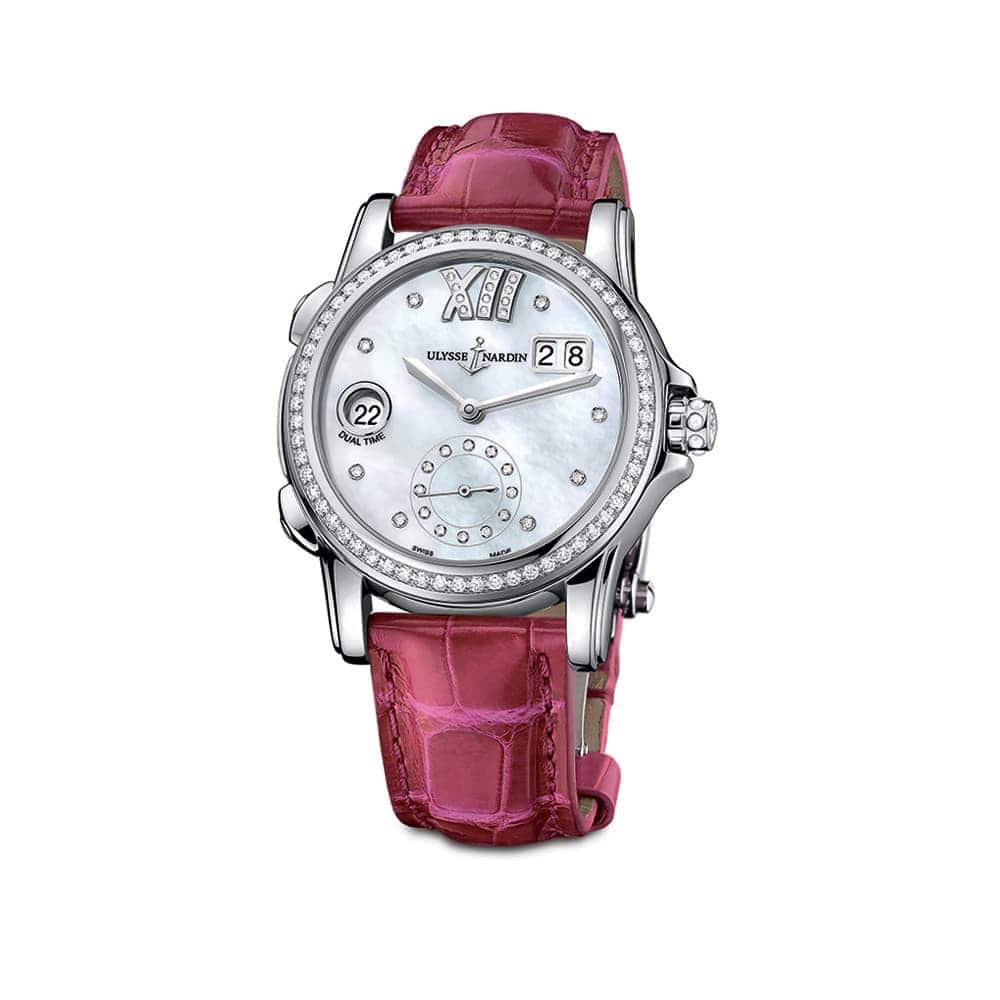 Часы Dual Time Lady Ulysse Nardin 3343-222B/391 - 2