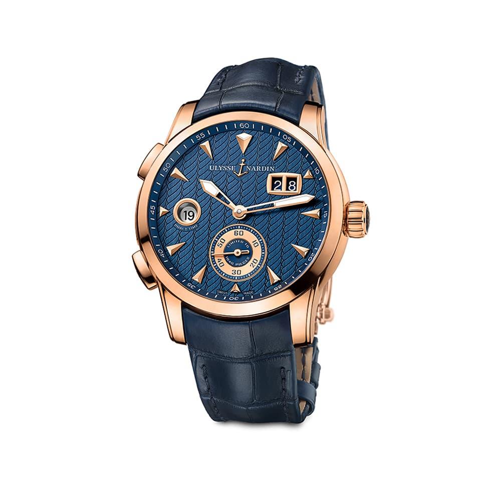 Часы Dual Time Manufacture  Ulysse Nardin 3346-126LE/93