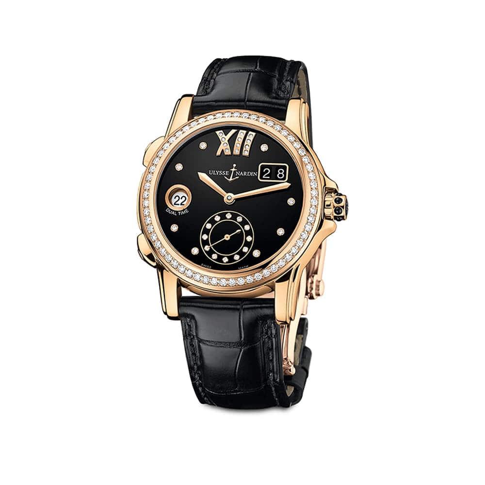 Часы Dual Time Lady Ulysse Nardin 3346-222B/30-02
