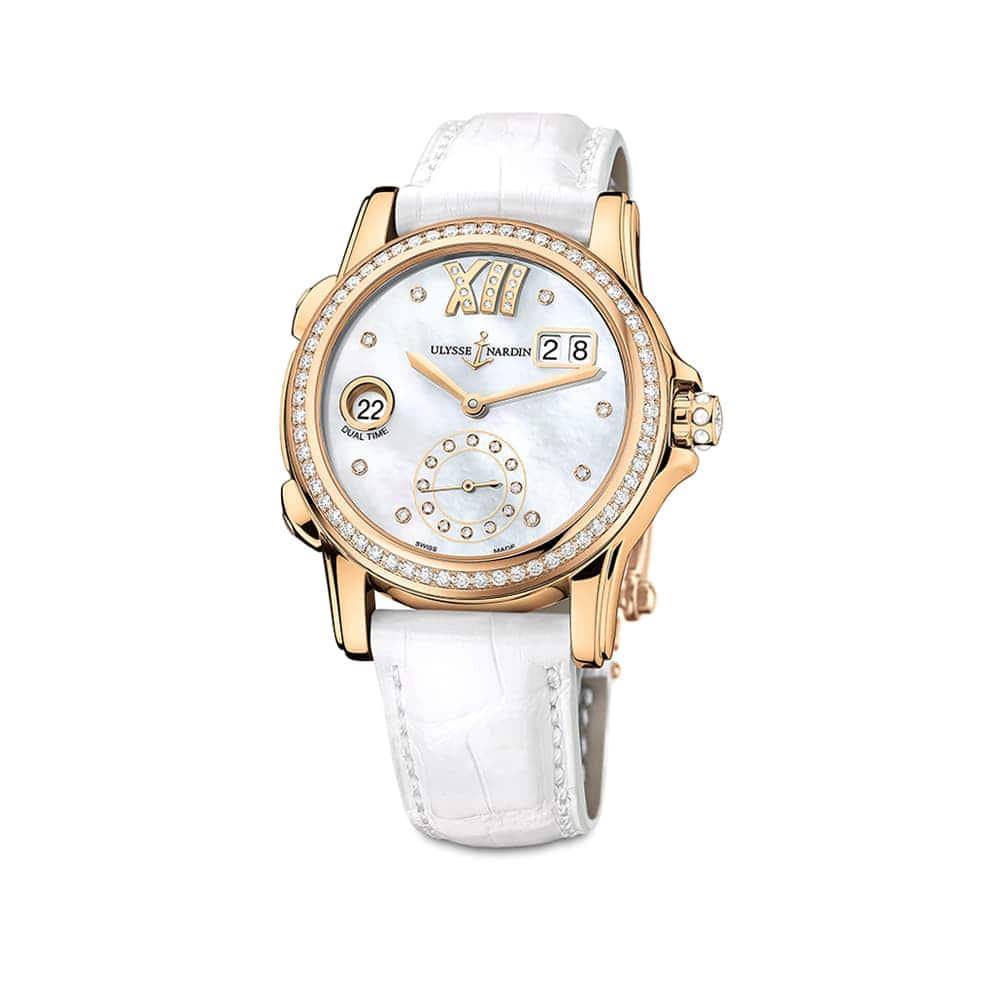 Часы Dual Time Lady Ulysse Nardin 3346-222B/391