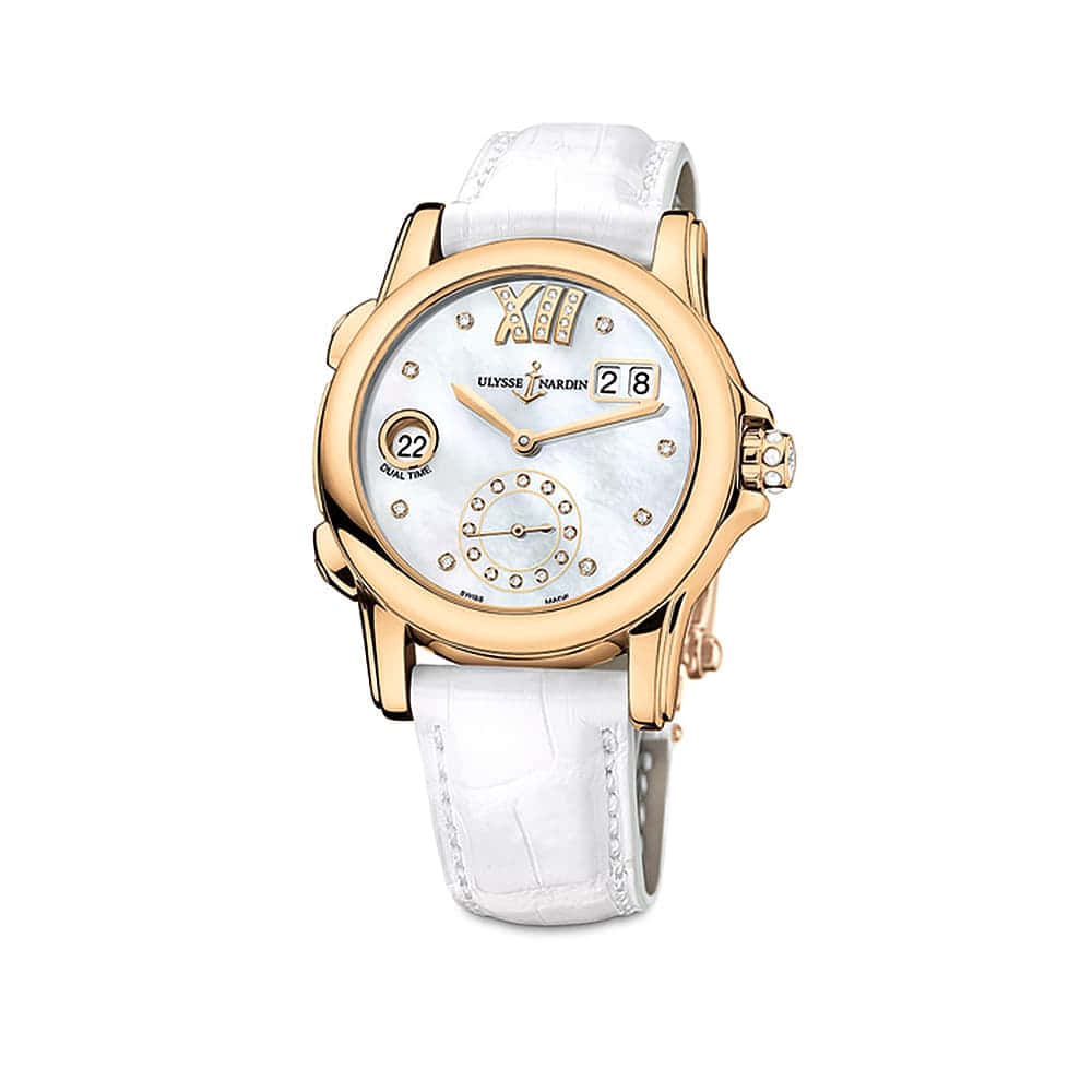 Часы Dual Time Lady Ulysse Nardin 3346-222/391