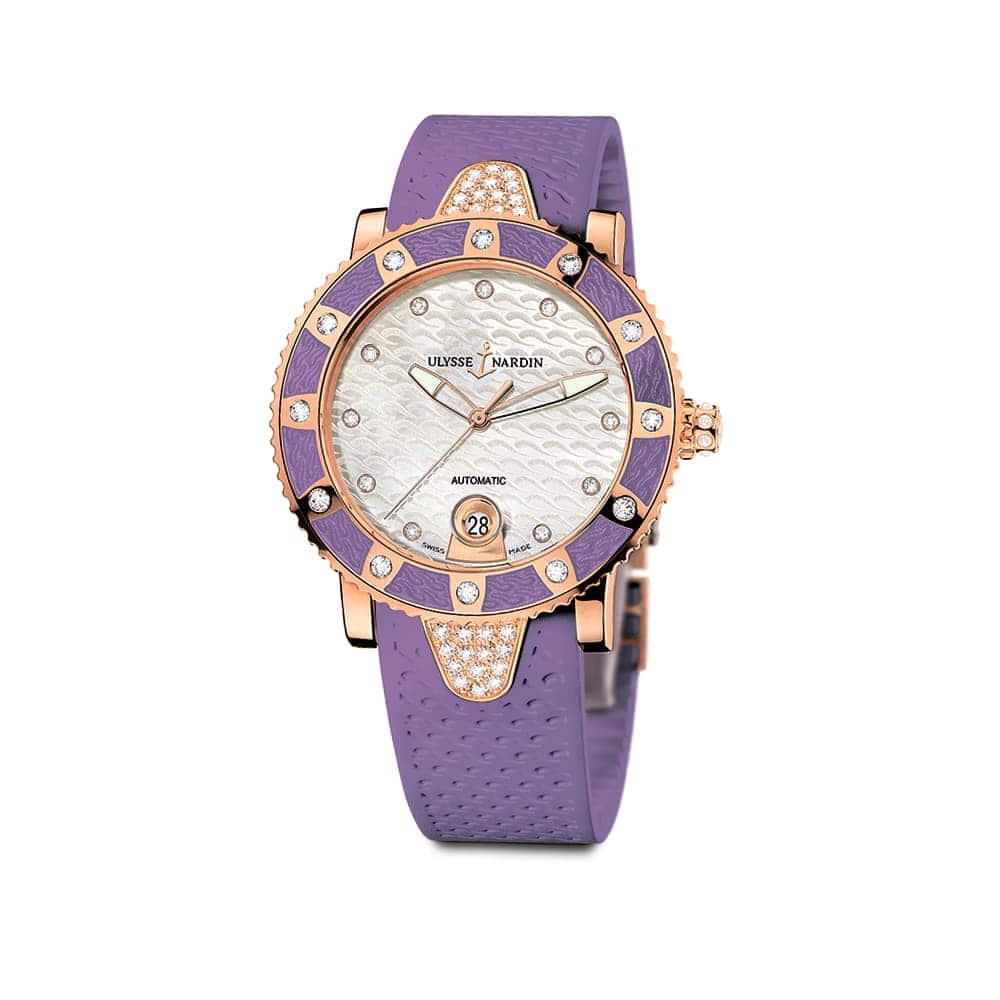 Часы Lady Diver Ulysse Nardin 8106-101E-3C/10.17