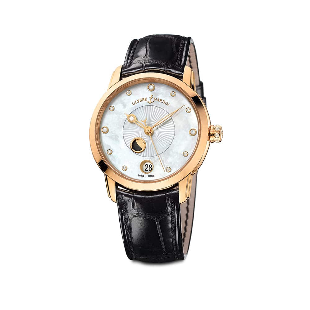 Часы Classico Moonphase Ulysse Nardin 8296-123-2/991