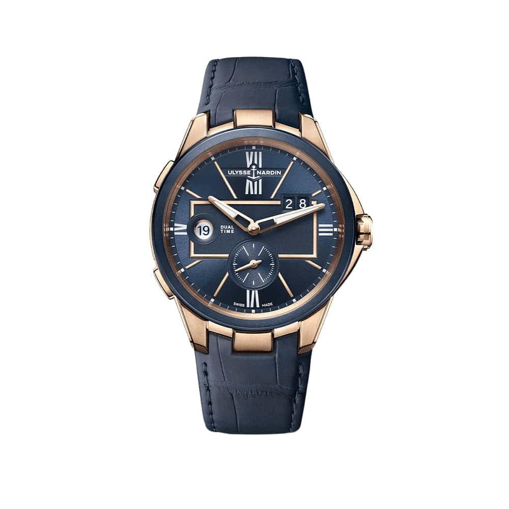 Часы Executive Dual Time Ulysse Nardin 242-20/43
