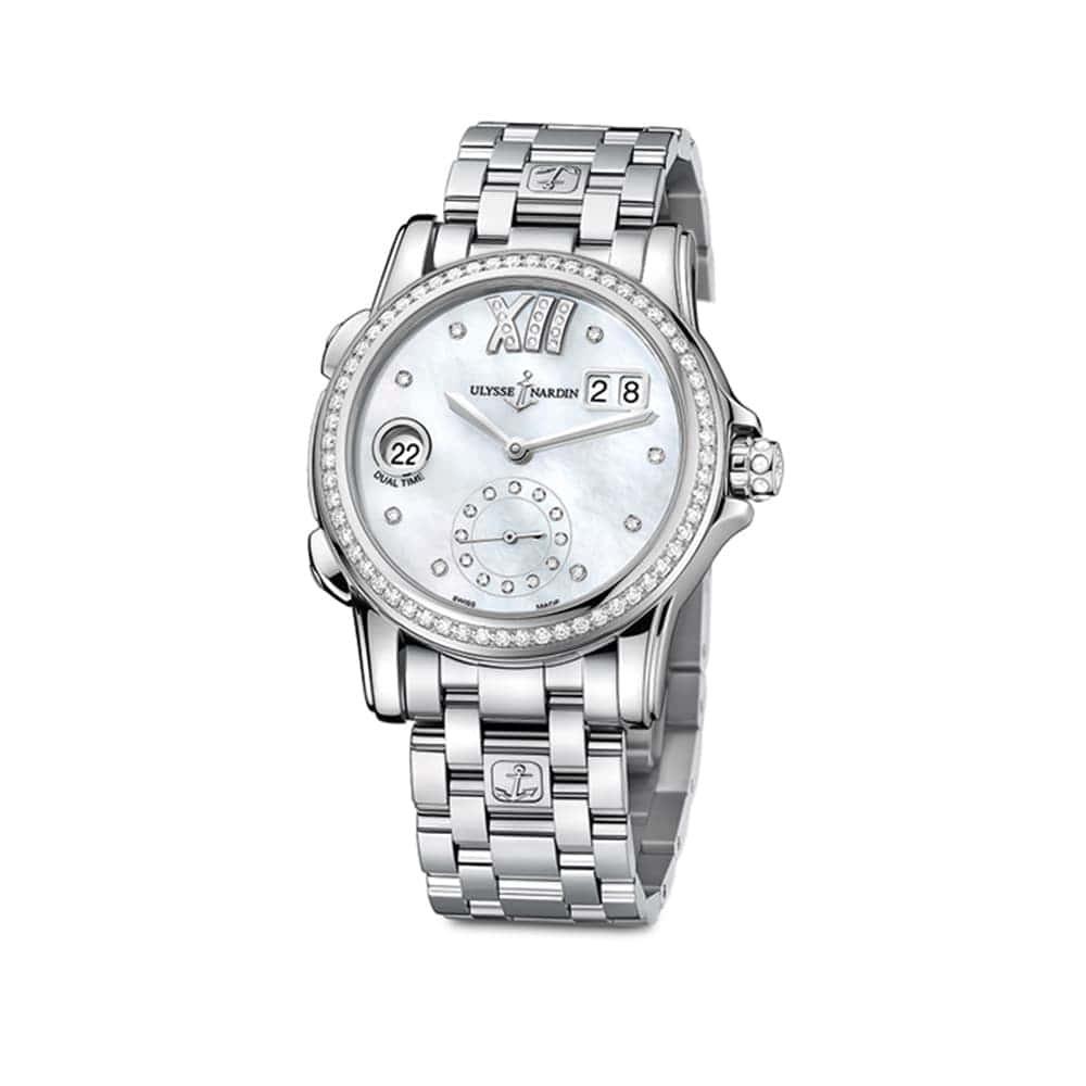 Часы Dual Time Lady Ulysse Nardin 3343-222B-7/391