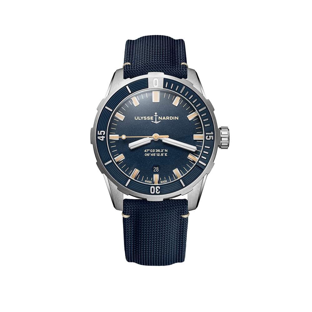 Часы Diver 42 mm Ulysse Nardin 8163-175/93