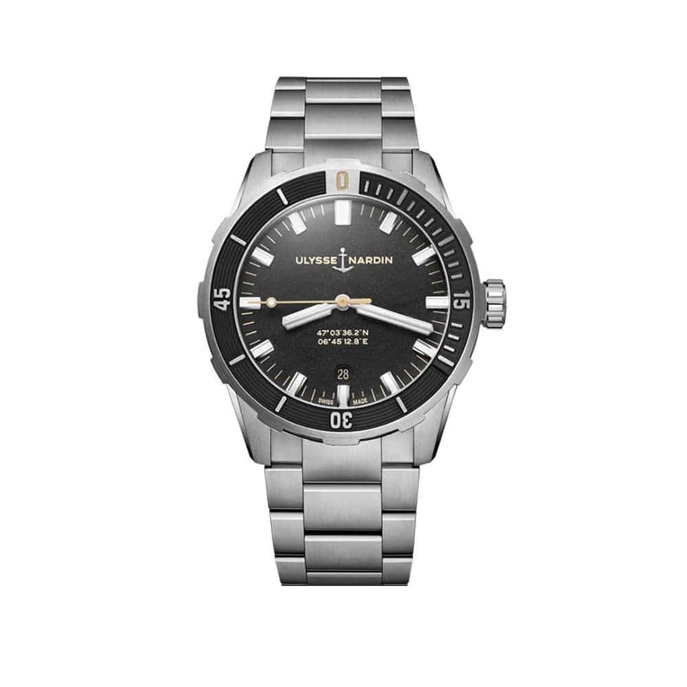 Часы Diver 42 mm Ulysse Nardin 8163-175-7M/92