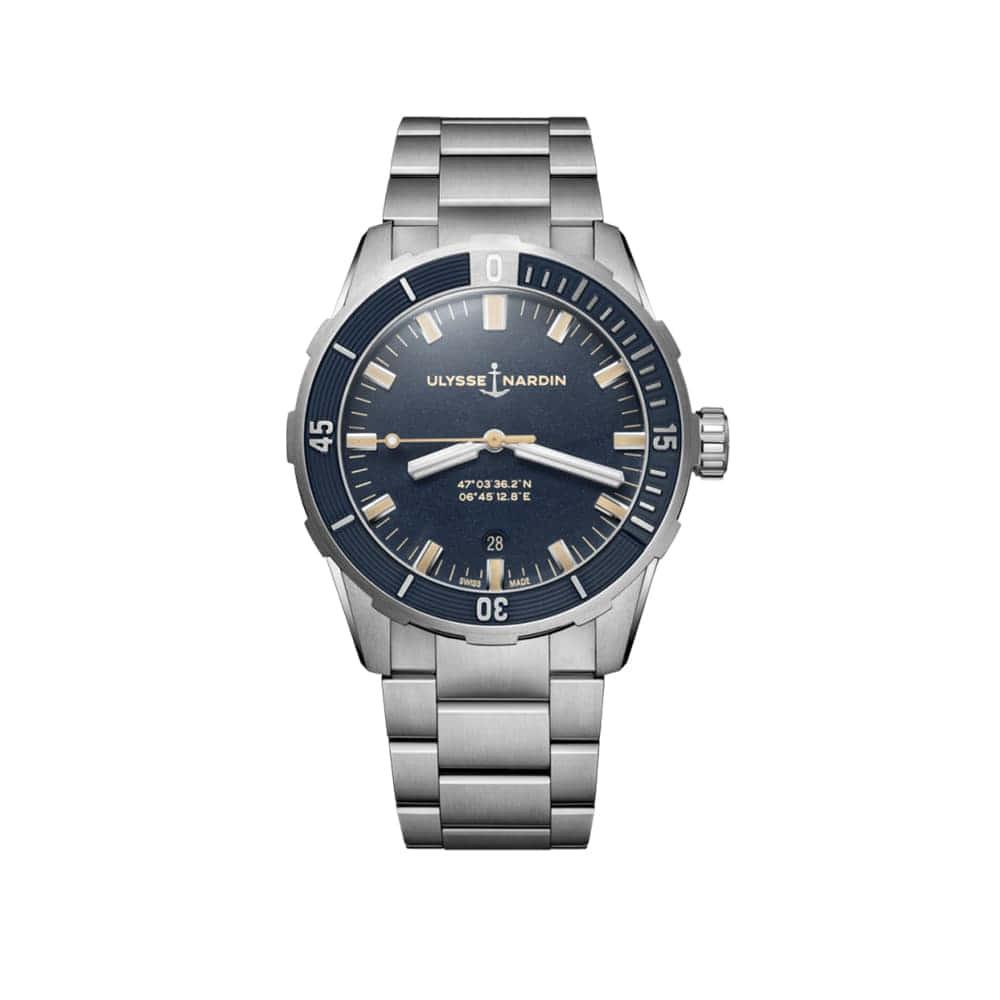 Часы Diver 42 mm Ulysse Nardin 8163-175-7M/93