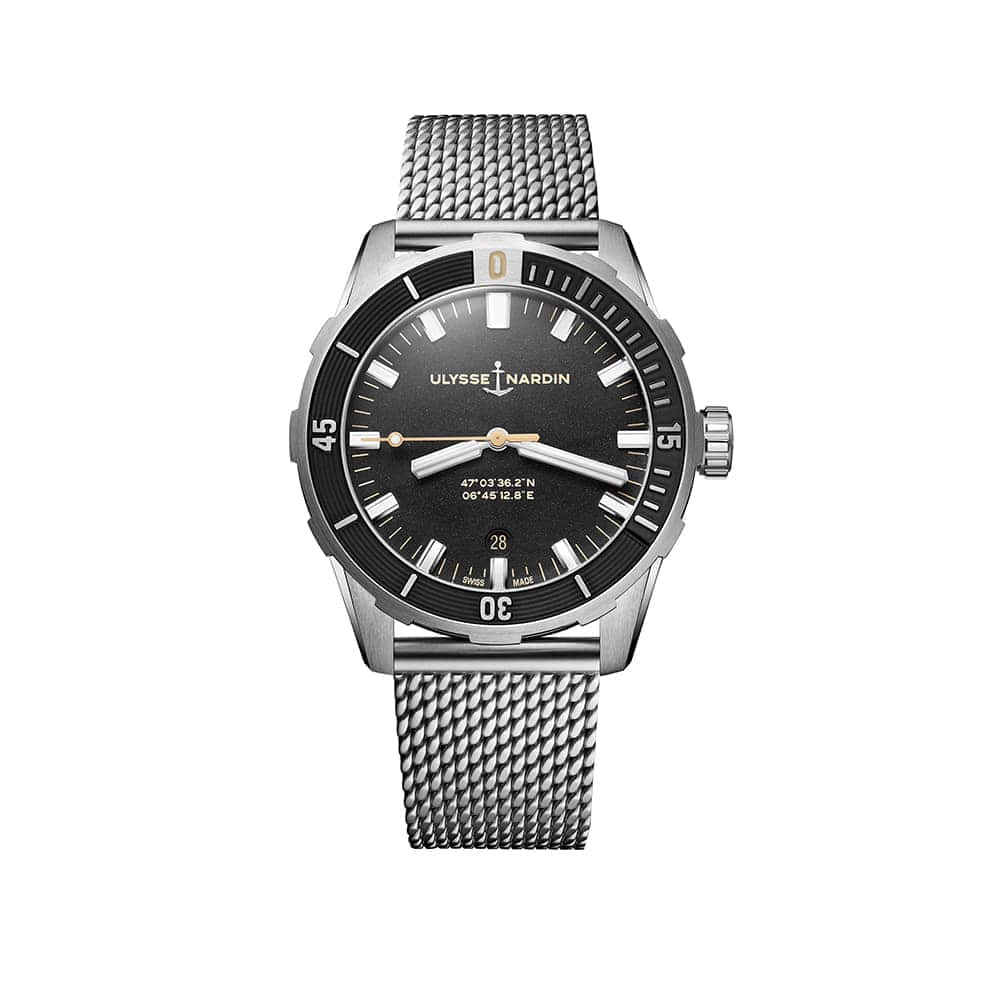 Часы Diver 42 mm Ulysse Nardin 8163-175-7MIL/92