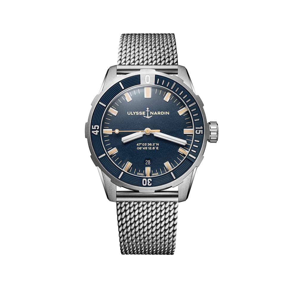 Часы Diver 42 mm Ulysse Nardin 8163-175-7MIL/93
