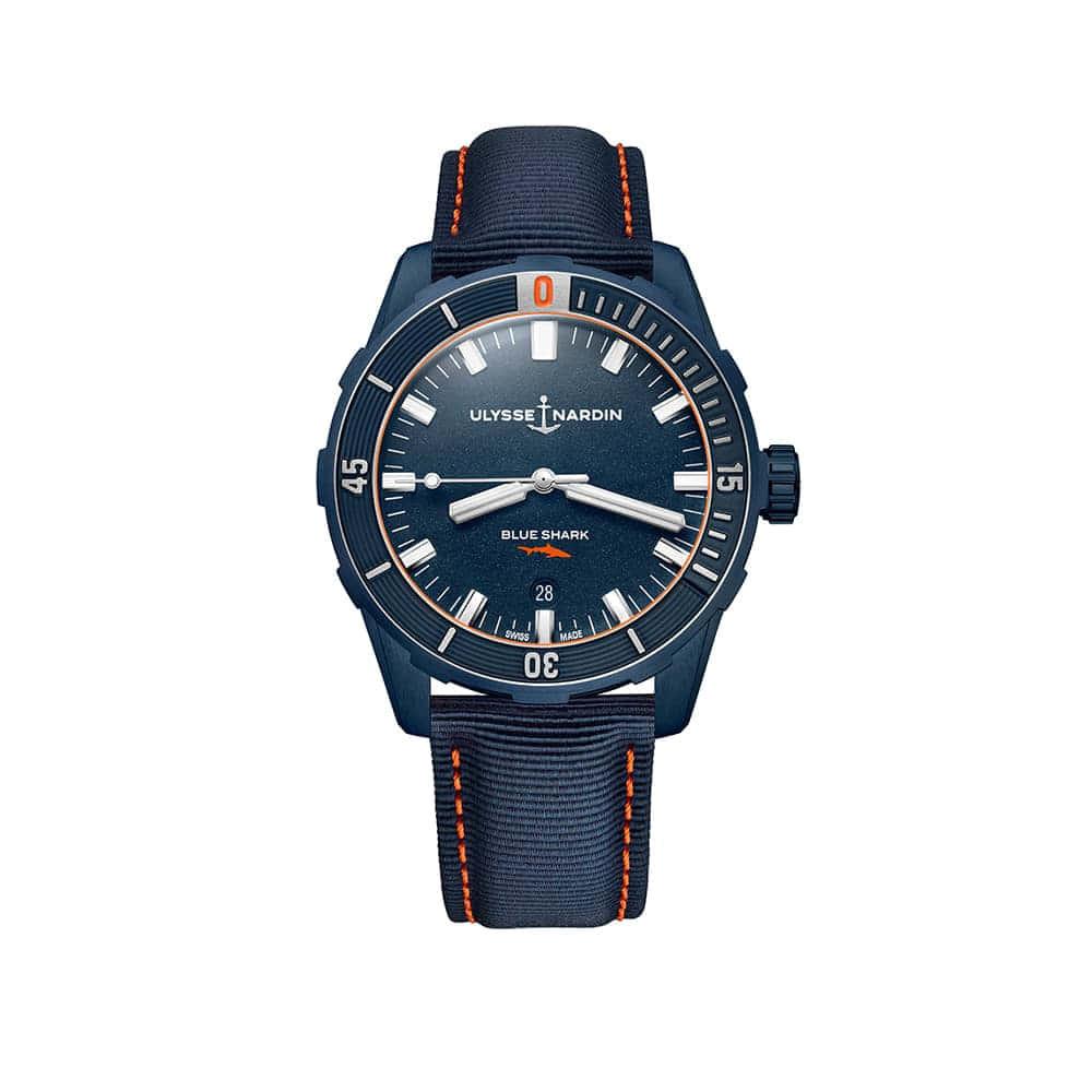 Часы Diver Blue Shark 42 mm Ulysse Nardin 8163-175LE/93-BLUESHARK