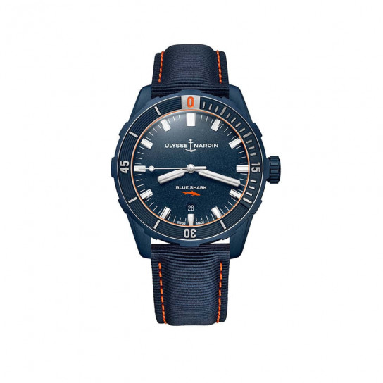 Годинник  Diver Blue Shark 42 mm
