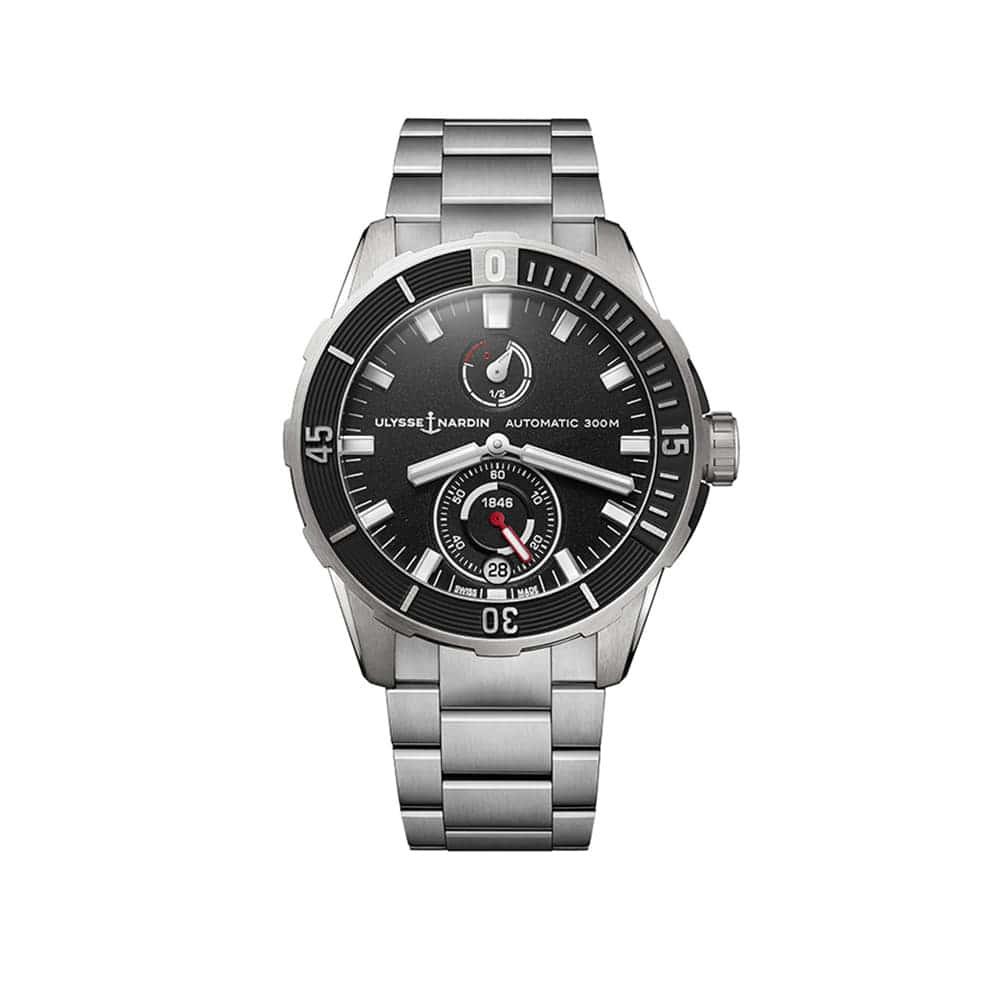 Часы Diver Сhronometer 44 mm Ulysse Nardin 1183-170-7M/92