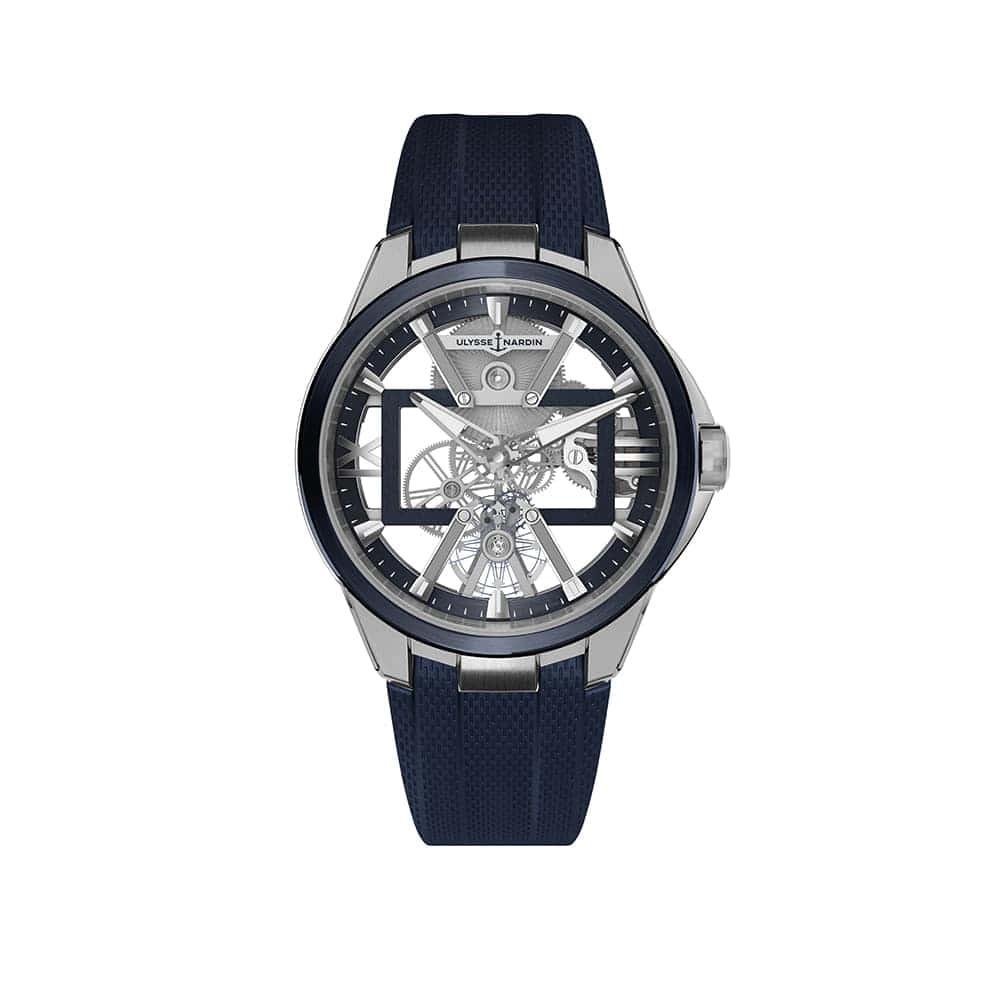 Часы Skeleton X Ulysse Nardin 3713-260-3/03