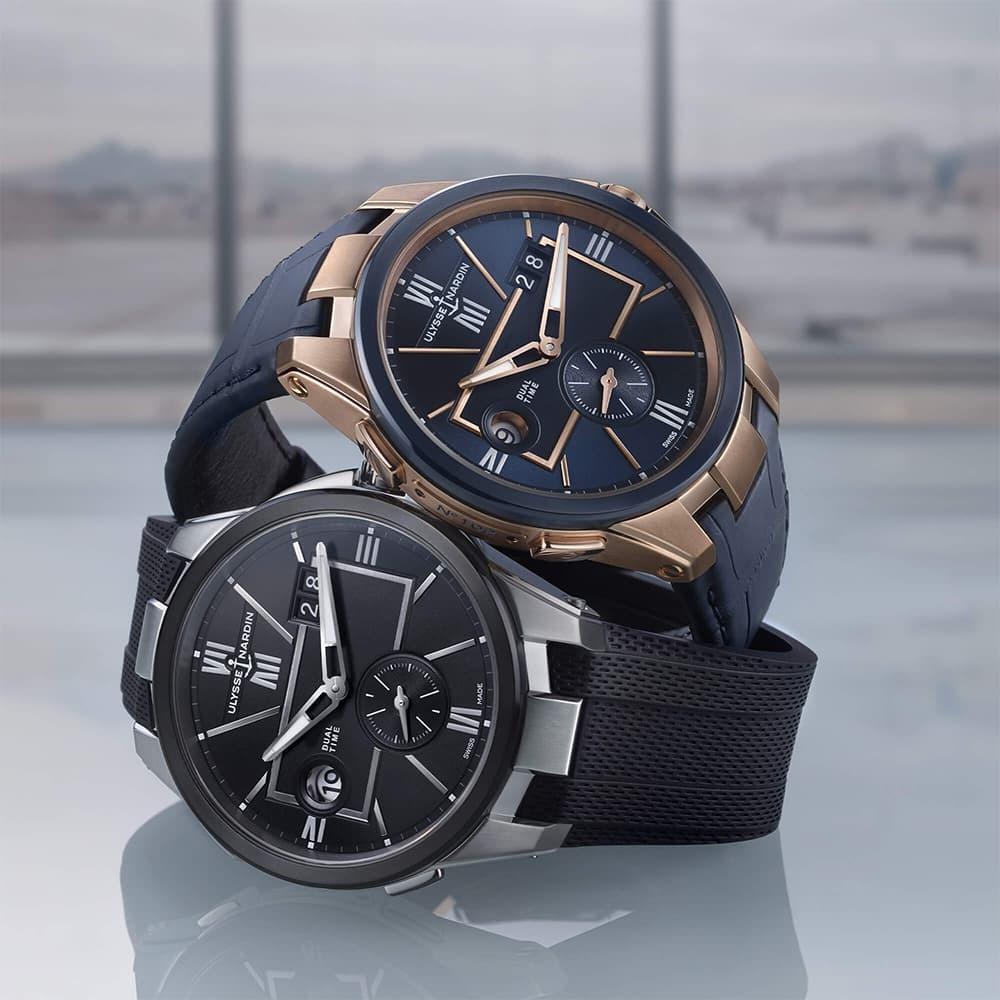 Часы Executive Dual Time Ulysse Nardin 243-20-3/43 - 2