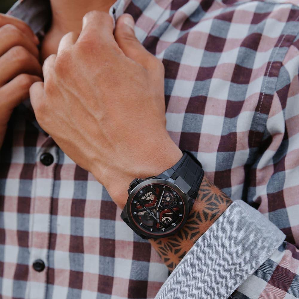 Часы Executive Blast Ulysse Nardin 1723-400/BLACK - 3