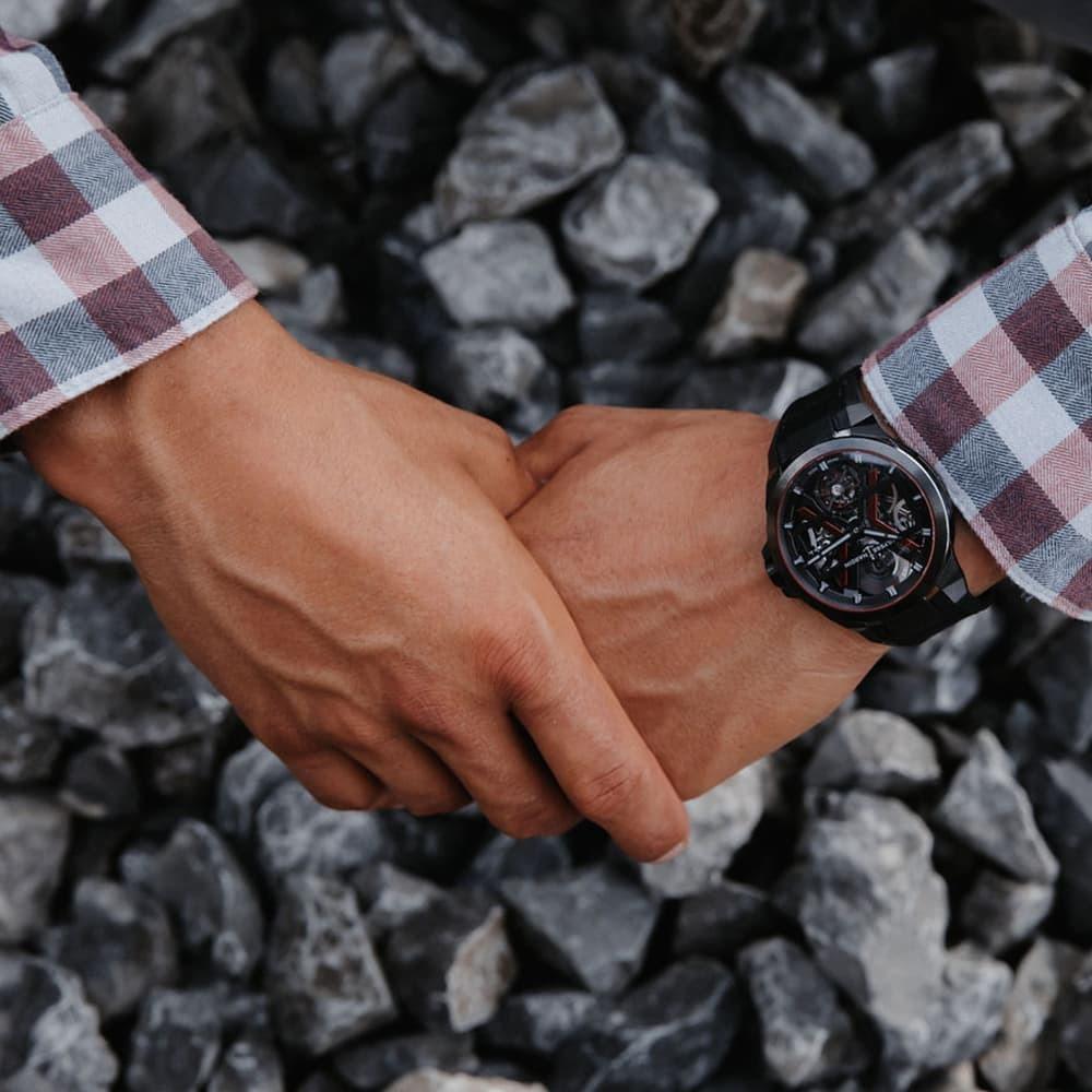 Часы Executive Blast Ulysse Nardin 1723-400/BLACK - 4