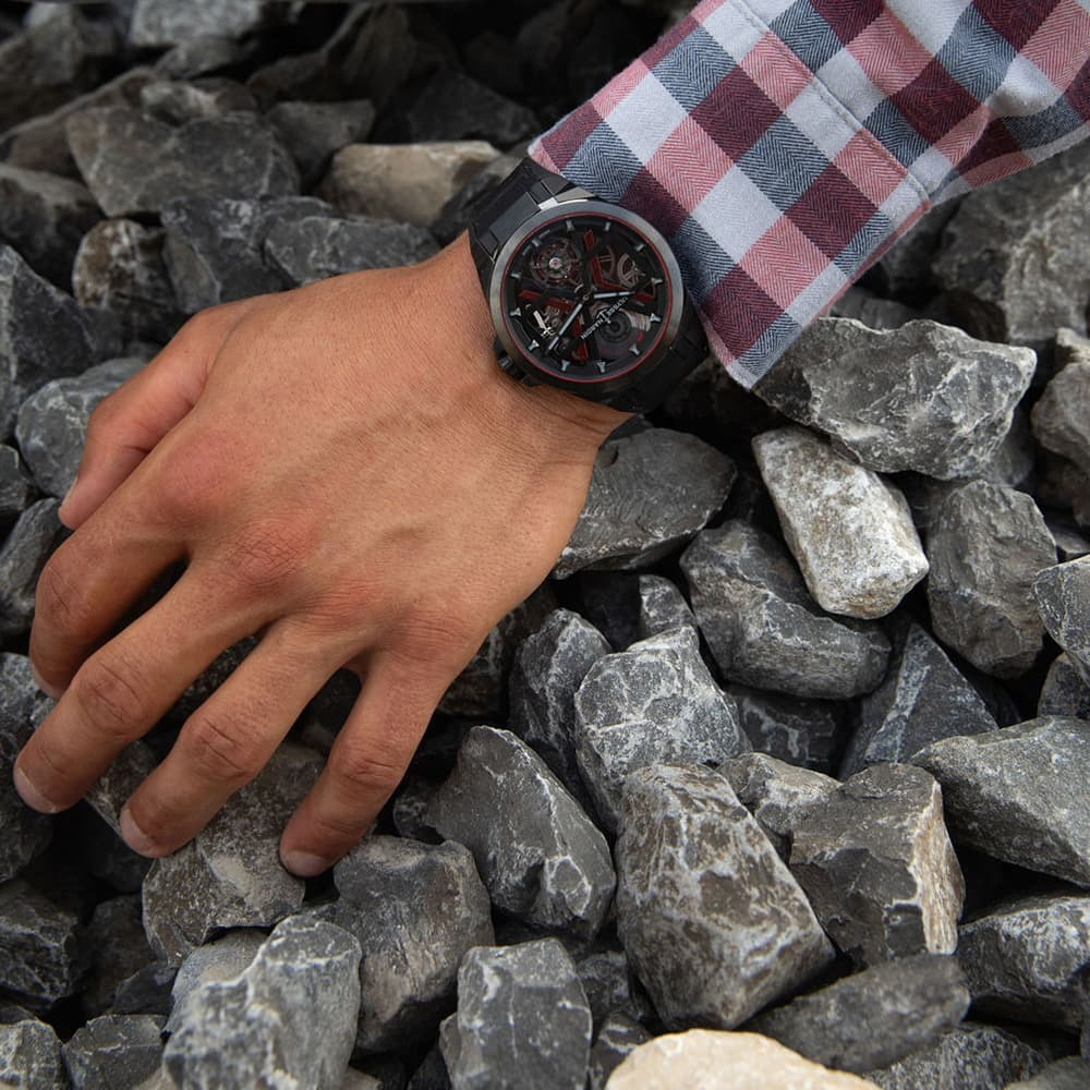 Часы Executive Blast Ulysse Nardin 1723-400/BLACK - 5