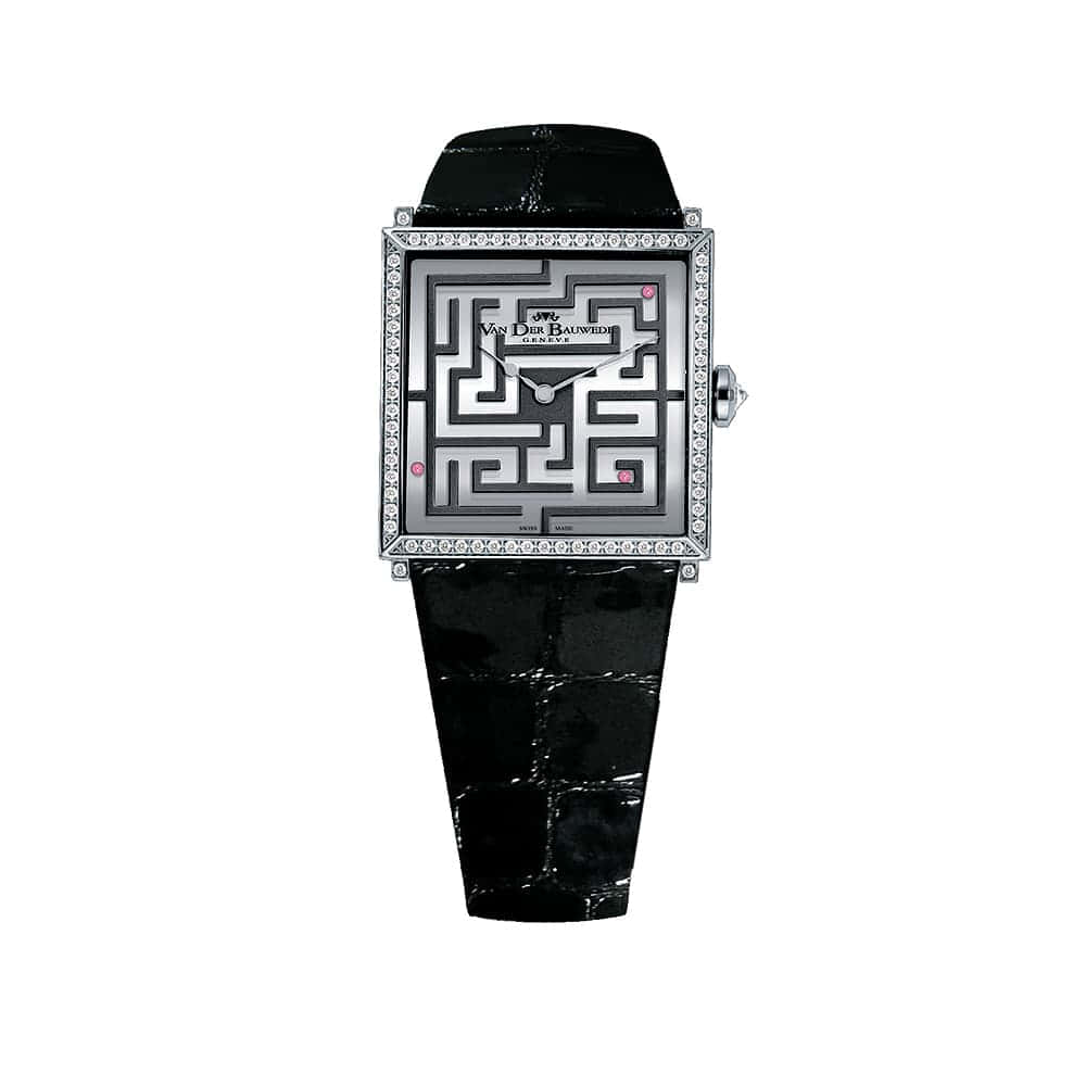 Часы Labyrinthe Quartz Van Der Bauwede 12611