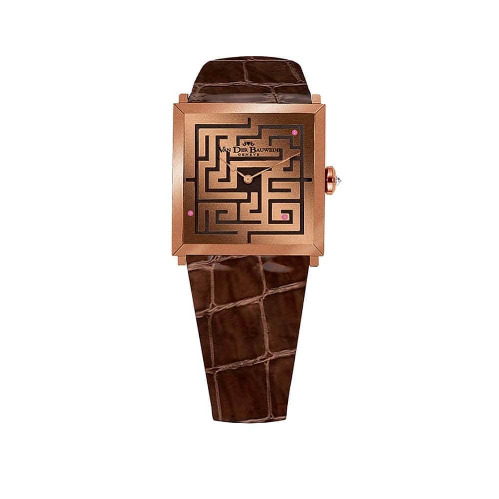 Часы Labyrinthe Quartz Van Der Bauwede 12734