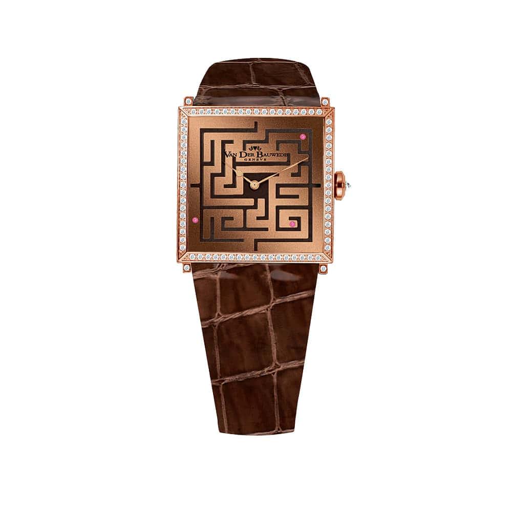 Часы Labyrinthe Quartz Van Der Bauwede 12735