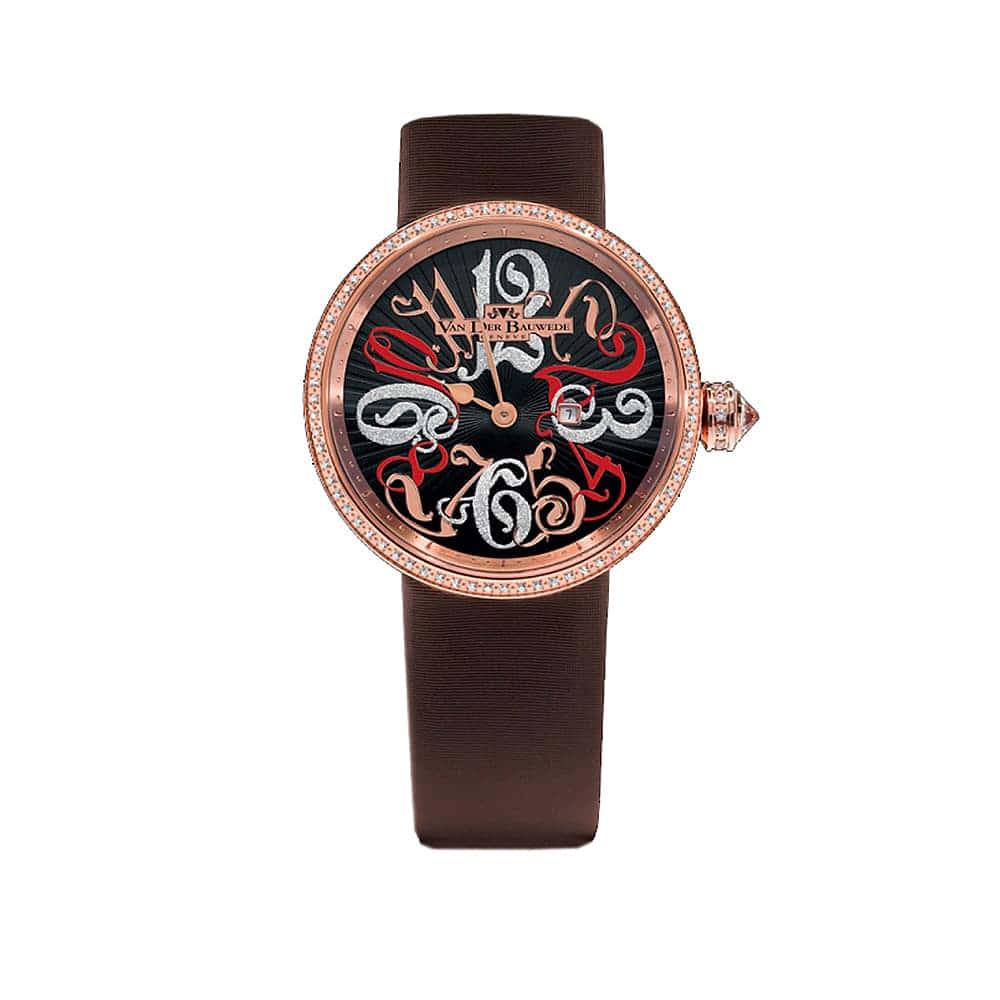 "Часы Neb-K ""Garden"" Quartz Van Der Bauwede 13354"