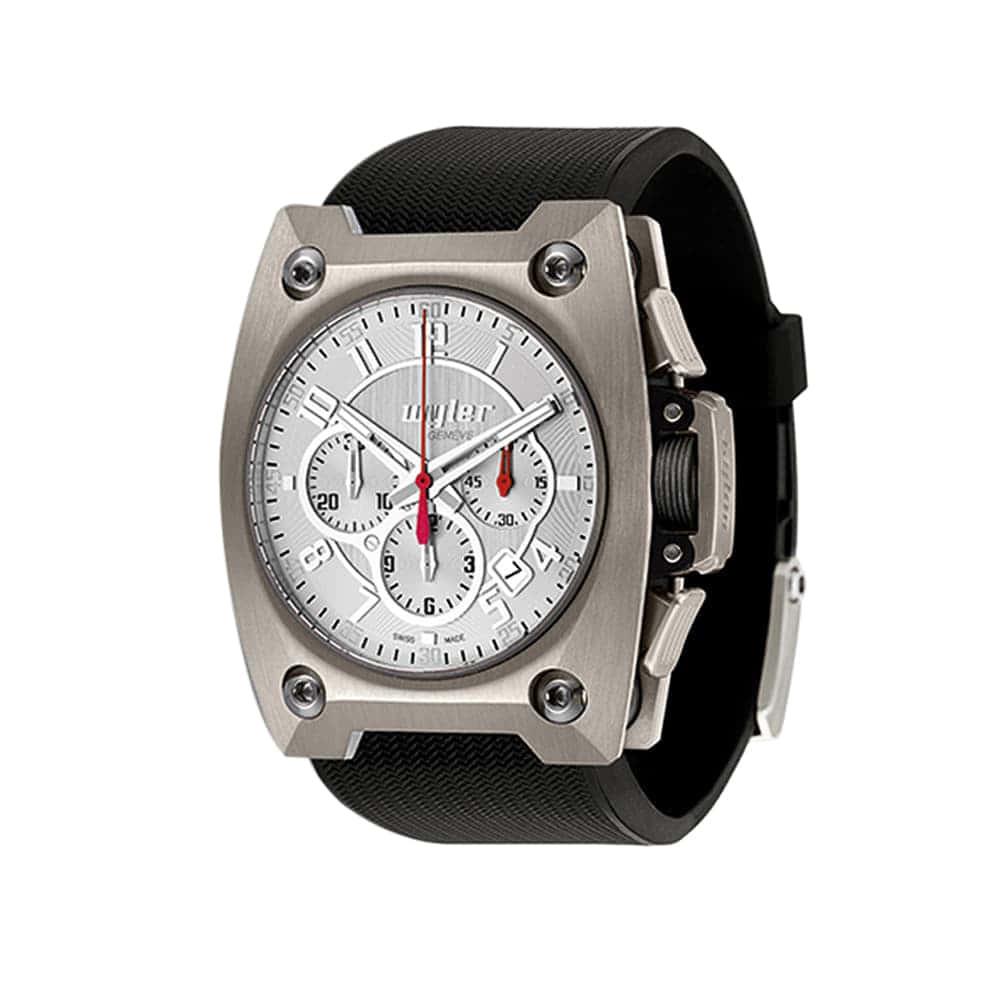 Часы Chronograph Steel WYLER 100.4.00.SS1.RBA