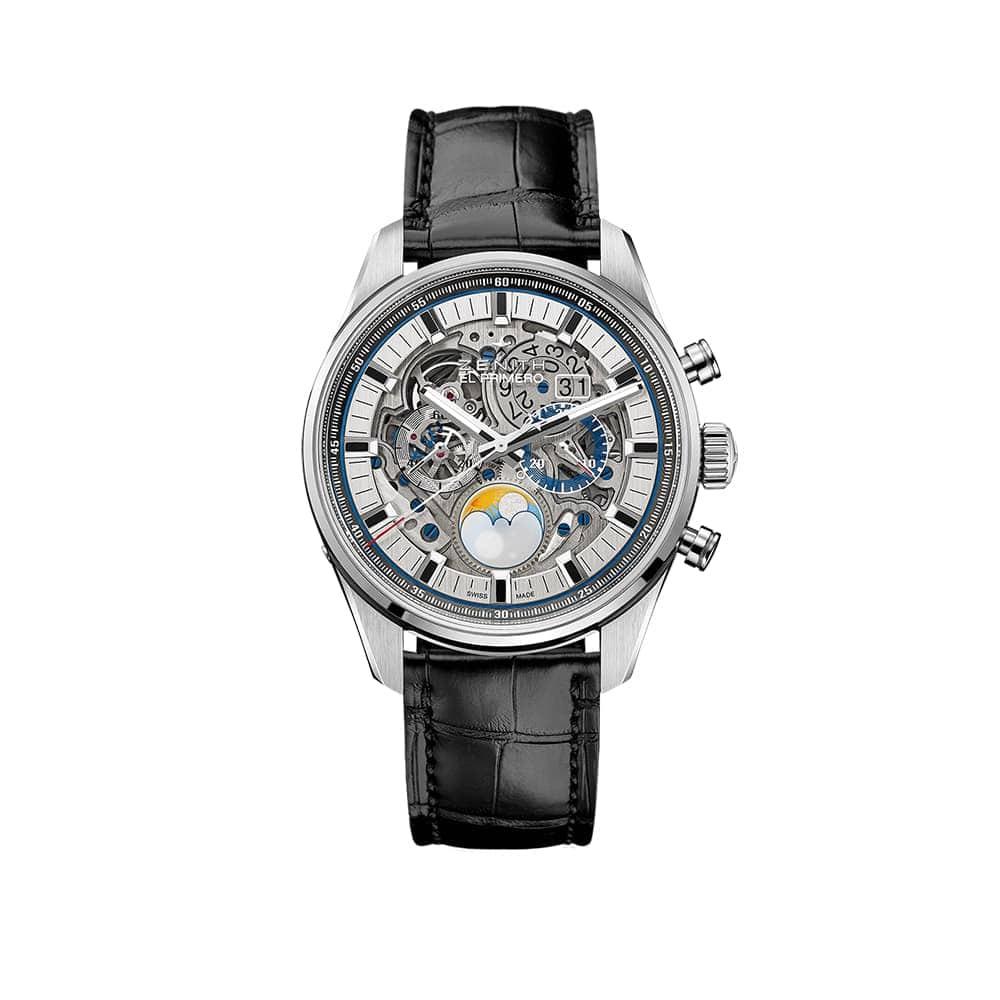 Часы Chronomaster El Primero Grande Date Full Open Zenith 03.2530.4047/78.C813