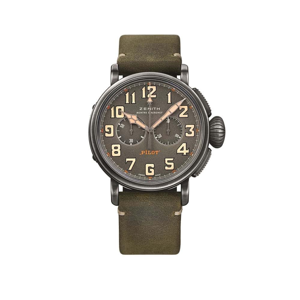 Часы Pilot Chronograph Ton Up Zenith 11.2430.4069/21.C773