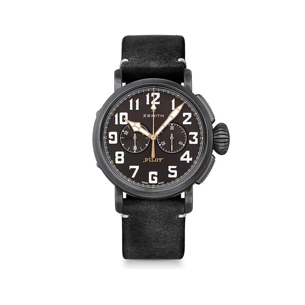 Часы Pilot Type 20 Chronograph Ton Up  Zenith 11.2432.4069/21.C900