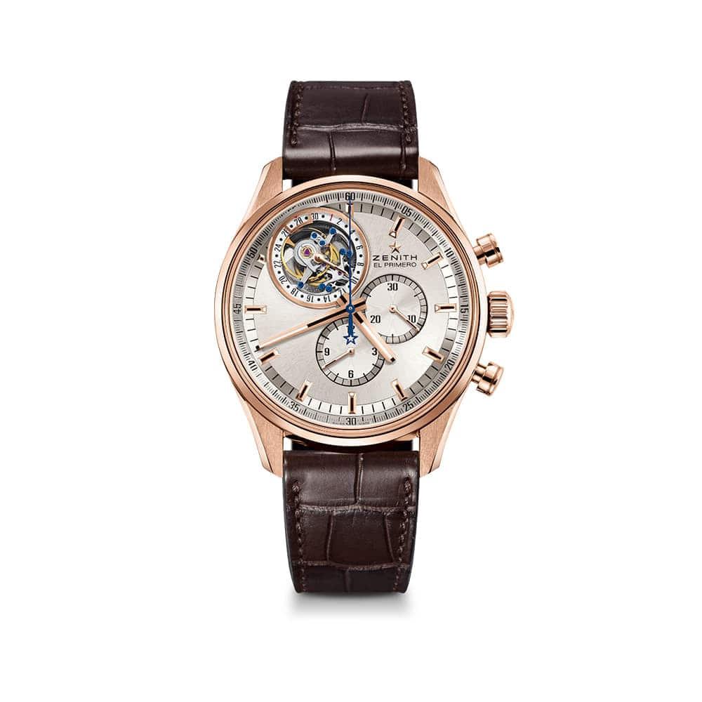 Часы Tourbillon Chronograph Zenith 18.2050.4035/01.C