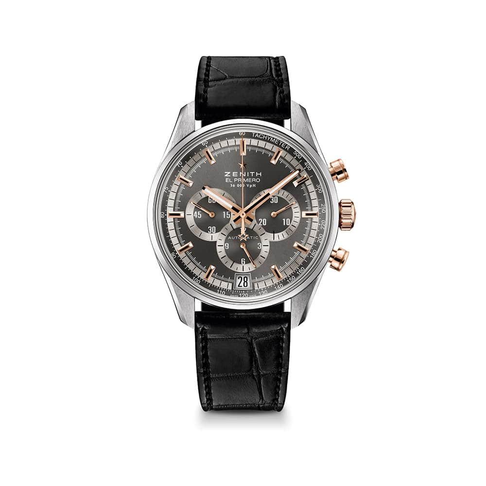 Часы El Primero 36'000 VpH  Zenith 51.2040.400/91.C
