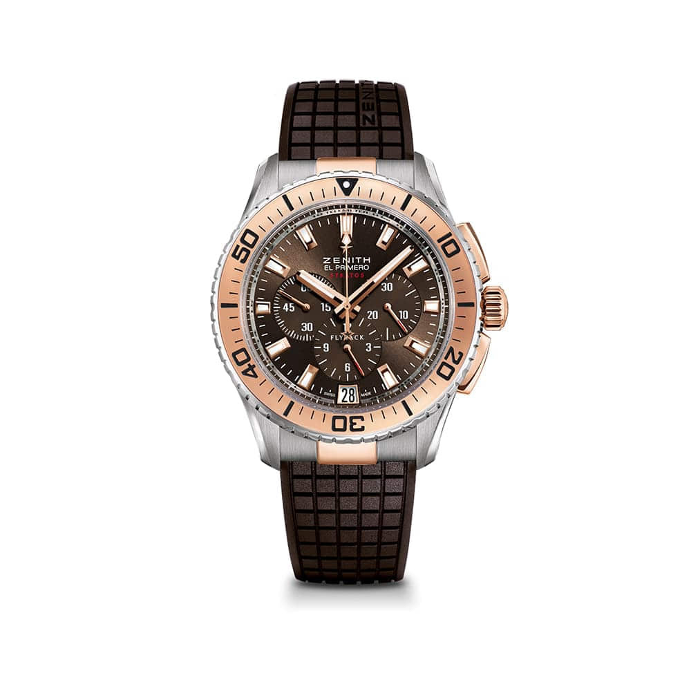 Часы El Primero Stratos Flyback Zenith 51.2061.405/75.R