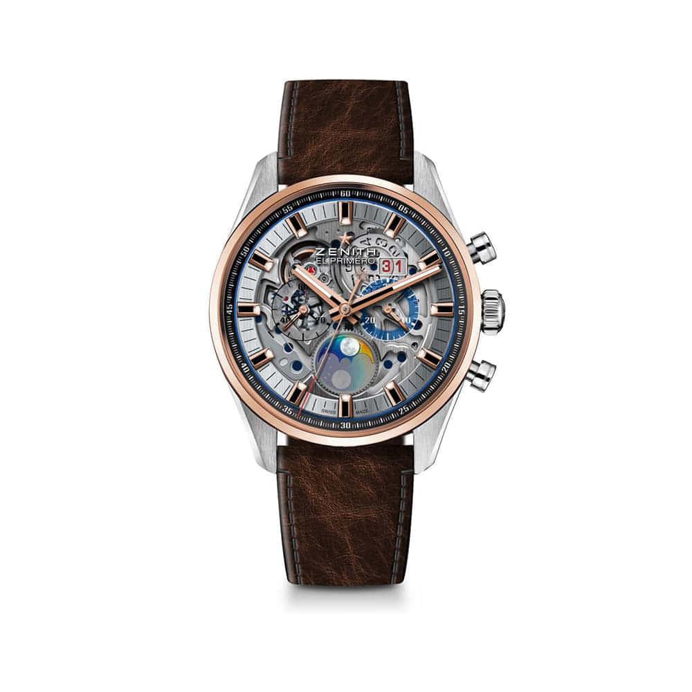 Часы Chronomaster El Primero Grande Date Full Open Zenith 51.2530.4047/78.C810