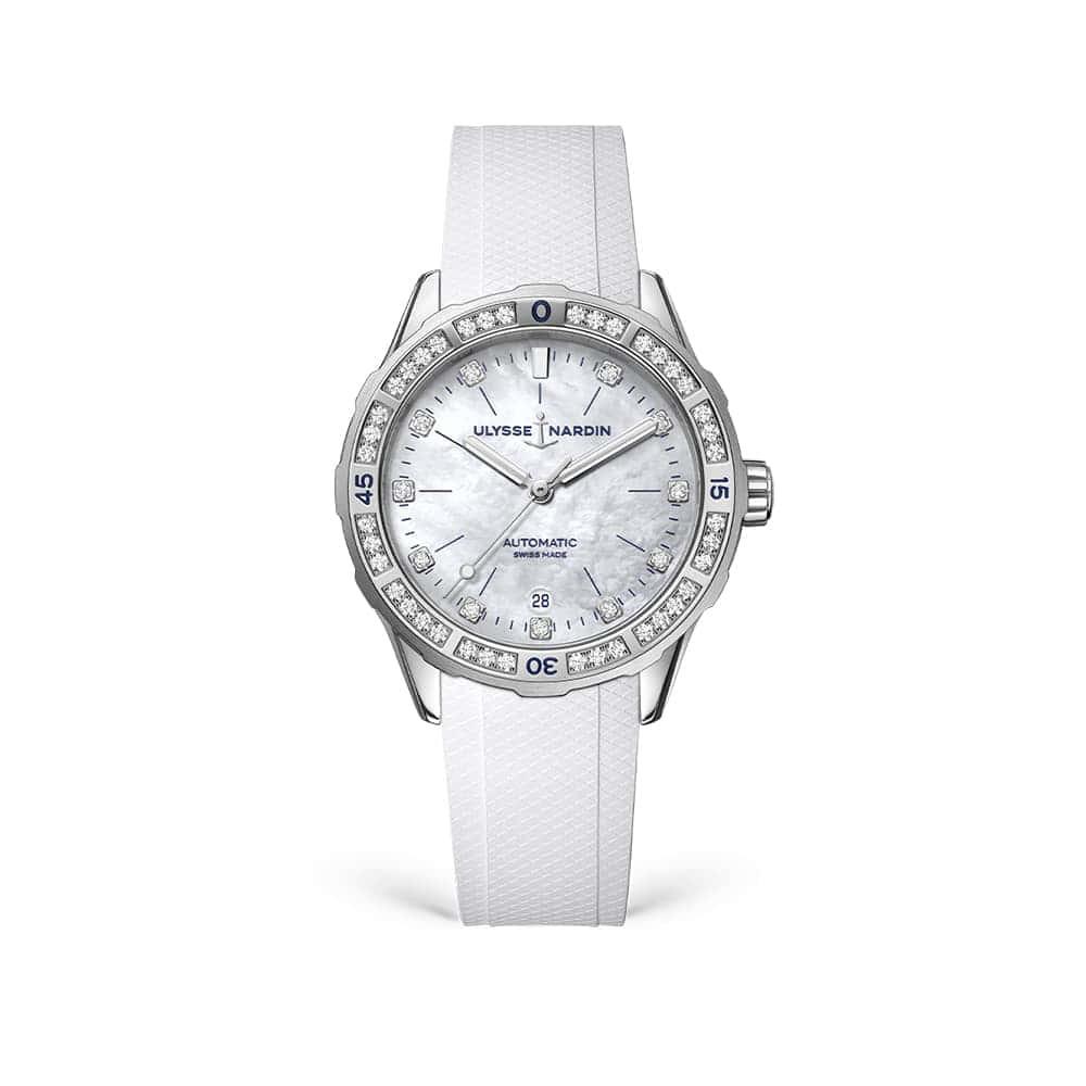 Часы Lady Diver 39 mm Ulysse Nardin 8163-182B-3/10