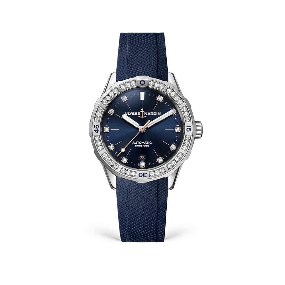 Часы Lady Diver 39 mm Ulysse Nardin 8163-182B-3/13