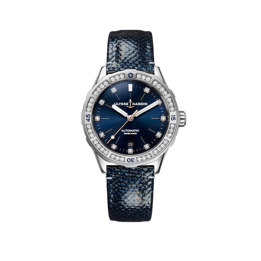 Часы Lady Diver 39 mm Ulysse Nardin 8163-182B.2/13
